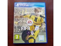 PS4 Fifa 17 in mint condition like new