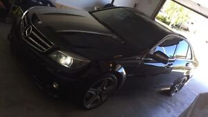 2009 C63 AMG // 90KM // priced to sell //Blck on Blck
