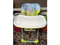 Brand new highchair from Mothercare