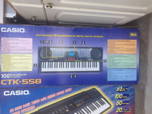 2 CASIO keyboards