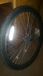 "26"" OEM FRONT MOUNTAIN BIKE WHEEL (SEALED BEARING)"