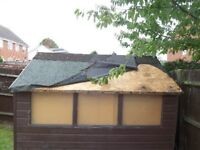 Does your shed need repairing or a new roof then call 'Creaky Leaky' Shed Roofing