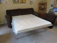 QUALITY METAL FRAMED SOFA BED