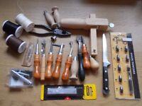 Leathercraft Tools, Leather, Instruction Books