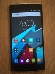 64Gb unlocked sandstone black oneplus one