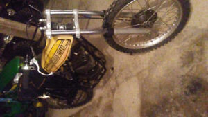 Vintage can am dirtbike