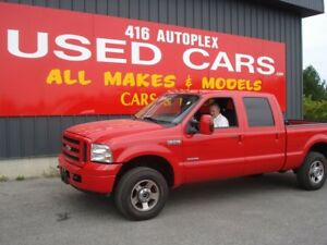 2007 Ford Super Duty F-250 XLT Diesel Crew 4X4