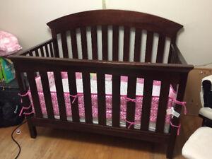 Baby Furniture Set - Crib, glider, change table
