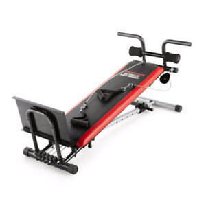 Banc d'exercice Ultimate Body Work de Weider