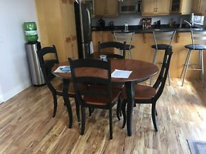 Kitchen table. Chairs