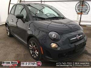 2016 Fiat 500 Sport TURBO SUNROOF, HEATED SEATS, BEATS AUDIO...