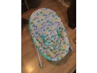 Bright Starts baby bouncer chair.