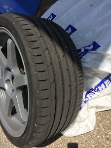 **LOWERED PRICE** TE37 Style Wheels -wide stance