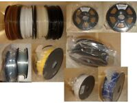3.0mm 3d printer filament...new and part used