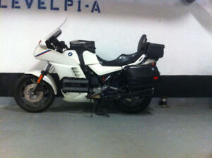 K100RS SPECIAL EDITION, PEARL WHITE. HEATED GRIPS, FOG LIGHTS