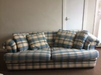 3 seater and 2 seater Laura ashley style design sofas