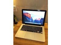 "Apple MacBook 13"" 8GB Ram~500GB HDD"