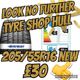 205/55R16 brand new tyres Fitted & balance Including. BRIWAY WAY , DRIVE THE SAFE WAY .