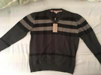 Burberry Brit Men's Sweater Khaki XL, New With Tags