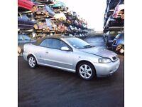 VAUXHALL ASTRA BENOTONE DRIVERS SIDE DOOR SILVER CONVERTIBLE 2001 2002 2003 BREAKING