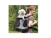 Wanted backpack style dog carrier.