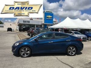 2014 Hyundai Elantra LIMITED, LEATHER, SUNROOF, LOCAL TRADE