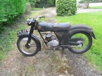 francis barnett plover 1965 no mot required free tax ride or renovate