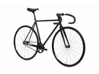 State Bicycle Matte Black 6 Fixed Gear Single Speed 55cm - Nearly NEW
