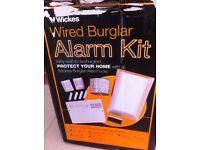 Wired burglar alarm kit for sale