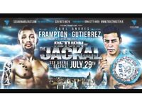 Must Go Tonight!! Carl Frampton x2 tickets 29th July belfast