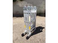 Clarke FPL3 Multi Function Aluminium Ladder