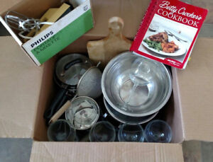 County Student Special:  Cooking Utensils in a Box