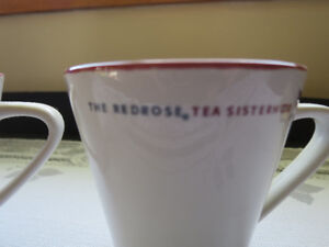 Red Rose Sisterhood of tea cups