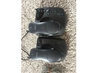 Samsung answer phone with 2 cordless handsets