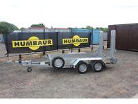 Humbaur Plant 2500kg Trailer with Skids HS253016