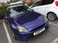RARE CLASSIC FORD PUMA 3 DOOR HATCHBACK, LEATHER SEATS, NEW CAMBELT, ALLOWS, C/D PLAYER, LONG MOT