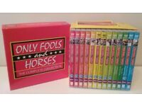 ONLY FOOLS AND HORSES COMPLETE DVD BOXSET SERIES 1-7 AND SPECIALS
