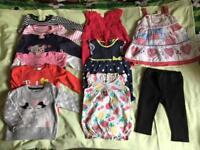 Baby girls cloths 6-9m