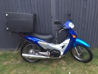 Honda anf 125 full logbook mot ready to work £400