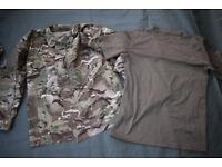 Issued UK forces MTP PCS Combat Jacket (shirt) + Free Tshirt