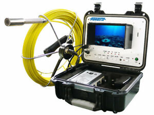 Plumbing pipe conducts inspection camera