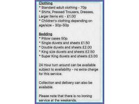 Harmer Domestic Laundry and Ironing Services