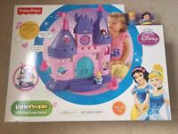Fisher Price - Little People Princess Songs Palace - New and Unused - Located in Thatcham RG19 4AD