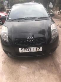 07 TOYOTA YARIS 1.3, 55000 Miles, FULL SERVICE HISTORY, 1 OWNER ONLY