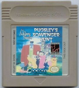 Pugsley's Scavenger Hunt - Game Boy