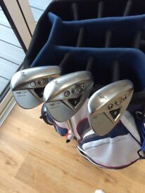 Taylormade XFT wedges, 52*, 56* and 58* lofts
