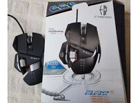 Mad Catz R.A.T.5 Laser Gaming Mouse - Black. Boxed With Weights