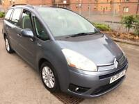 Stunning 2008 08 Citroen Grand Picasso 1.6Hdi Vtr+ 7 Seater **Only 74000+1 Years Mot+Turbo Diesel**