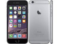 Apple I phone 6s grey silver 64gb