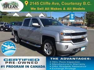2017 Chevrolet Silverado 1500 LT 4x4 Leather Seats Navigation Z7